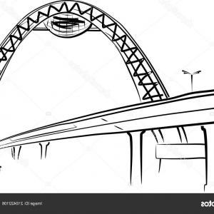 300x300 Photostock Vector Black Icon Golden Gate Bridge Cartoon Vector