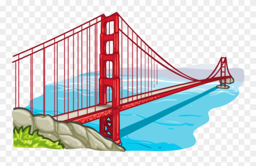880x573 Huge Collection Of 'golden Gate Bridge Clipart' Download More