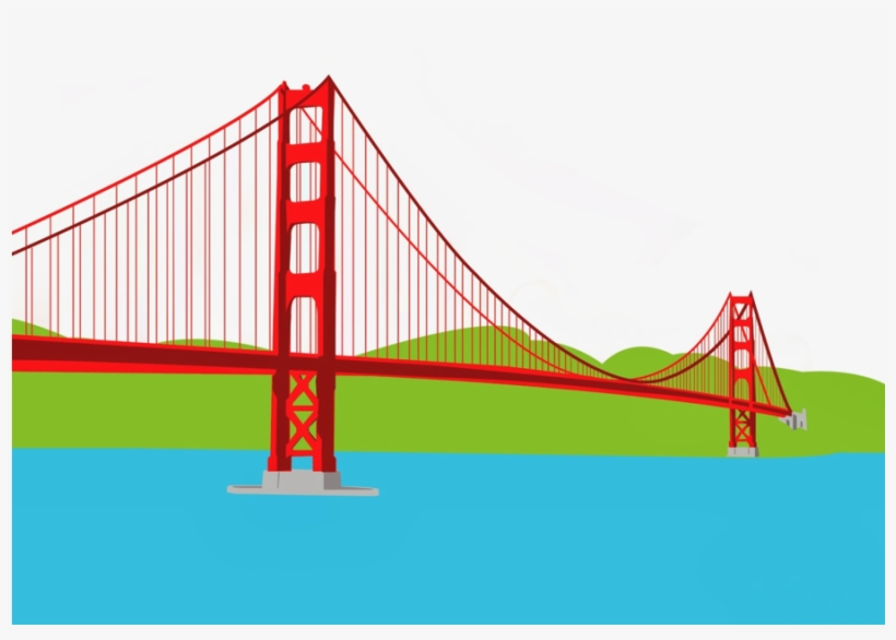 820x586 Golden Gate Bridge Clipart Golden Gate Bridge Crissy