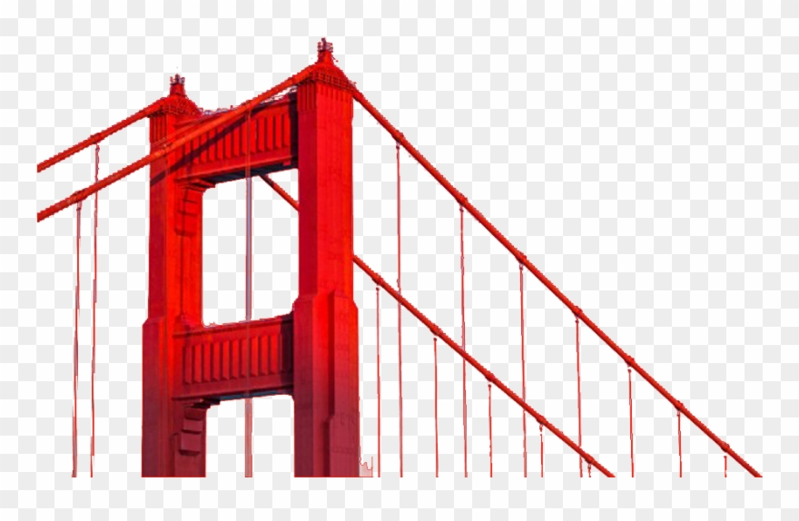 880x574 San Francisco Bridge Png