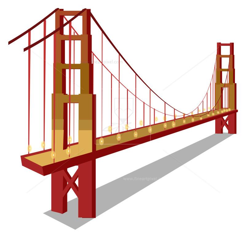 800x774 Golden Gate Bridge Free Vectors, Illustrations, Graphics, Clipart