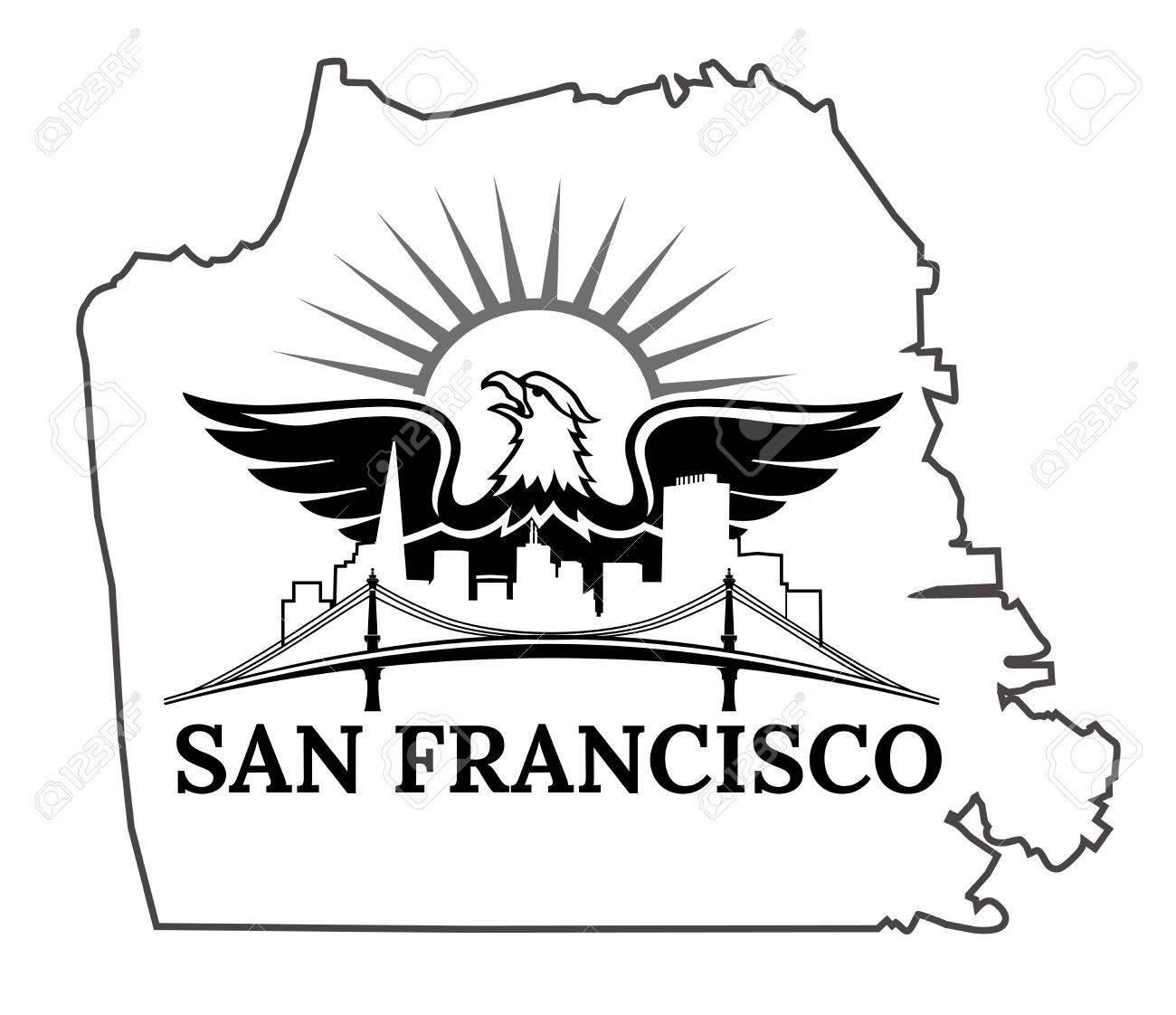 1300x1122 Golden Gate Bridge Drawing Clip Art