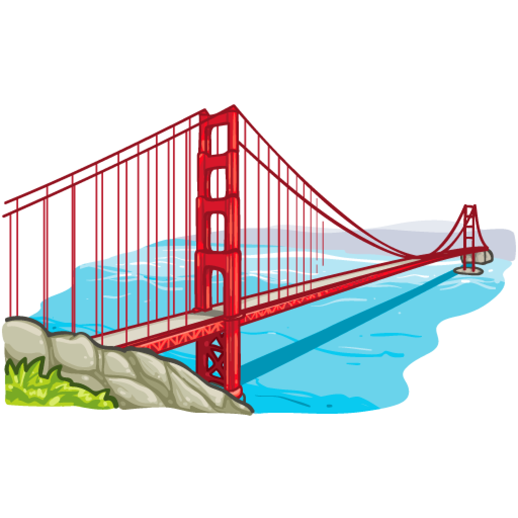 1024x1024 Golden Gate Transparent Png Clipart Free Download