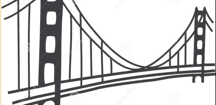 840x410 Golden Gate Bridge Pencil Drawings Drawing Examples