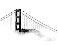 236x182 Best Golden Gate Bridge Painting Images Bridges, Golden Gate