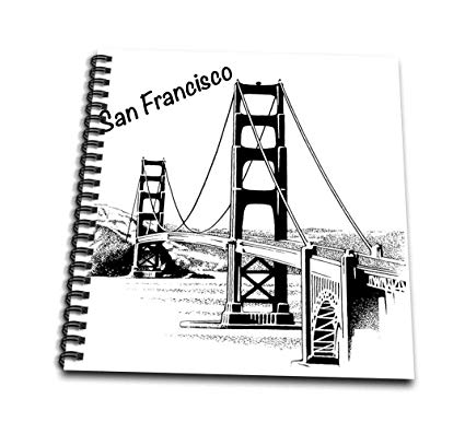 425x386 Db Golden Gate Bridge Memory Book