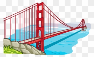 320x194 Image Of Bridges Clipart Golden Gate Bridge Clipart