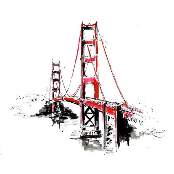 600x600 San Francisco Golden Gate Bridge Travel Print From Original