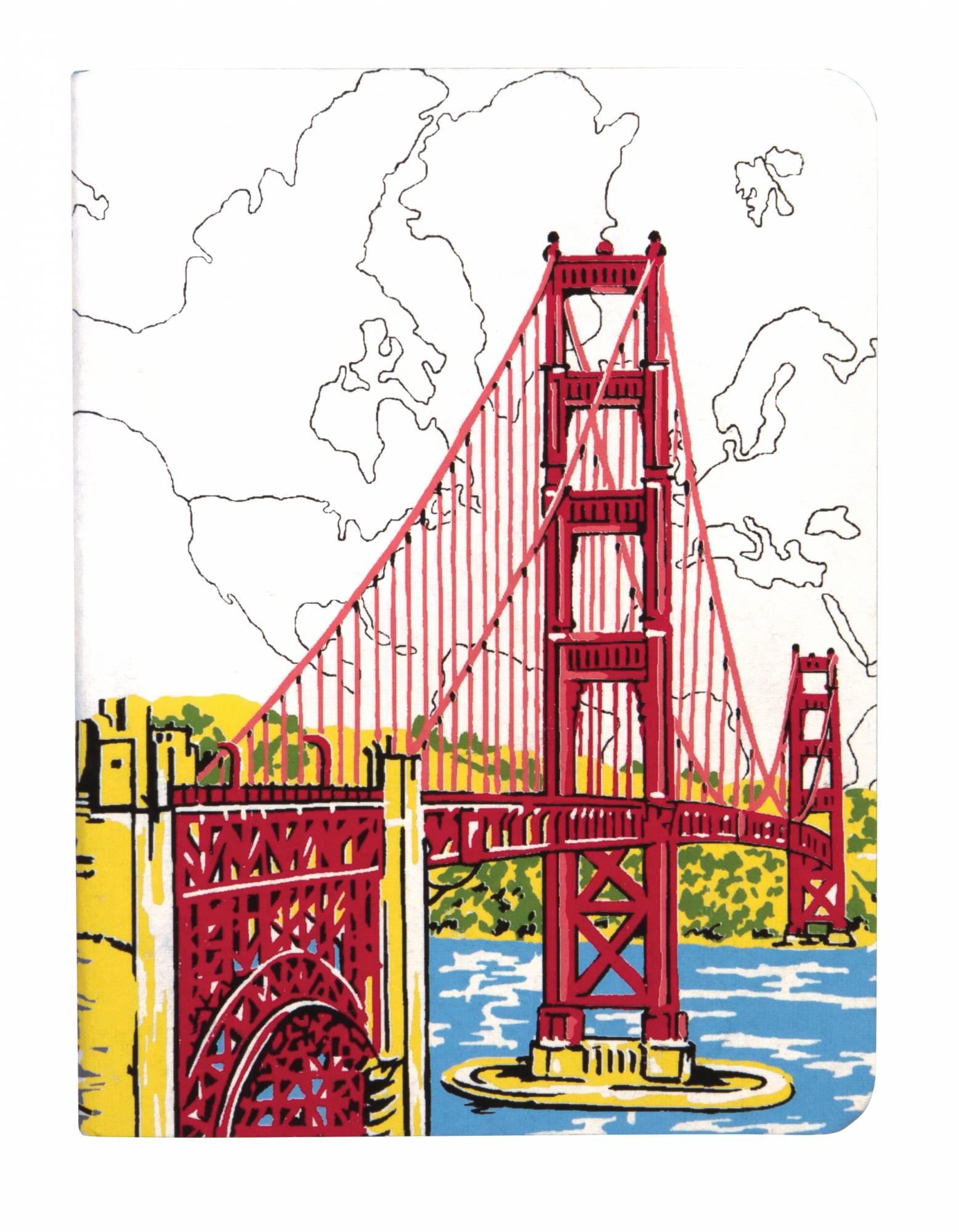 1557x2000 San Francisco Golden Gate Handmade Journal Abrams