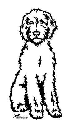 236x413 Image Result For Bernedoodle Silhouette Graphics, Clipart