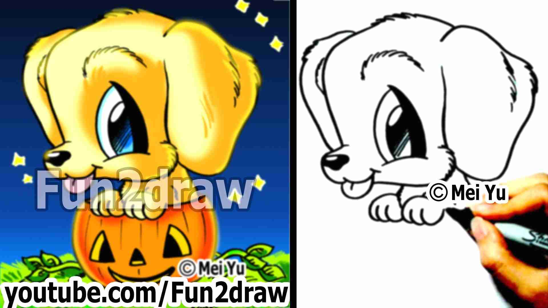 1920x1080 Coloring Pages Draw A Golden Retriever Labrador Dog Drawing