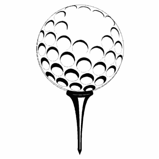 Golf Ball Drawing | Free download on ClipArtMag