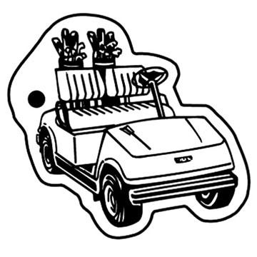 Golf Cart Drawing