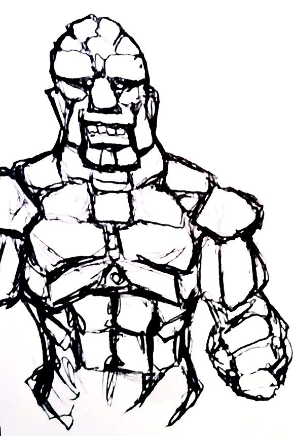 580x860 stone gollum doodles i've drawn draw, sketches, doodles