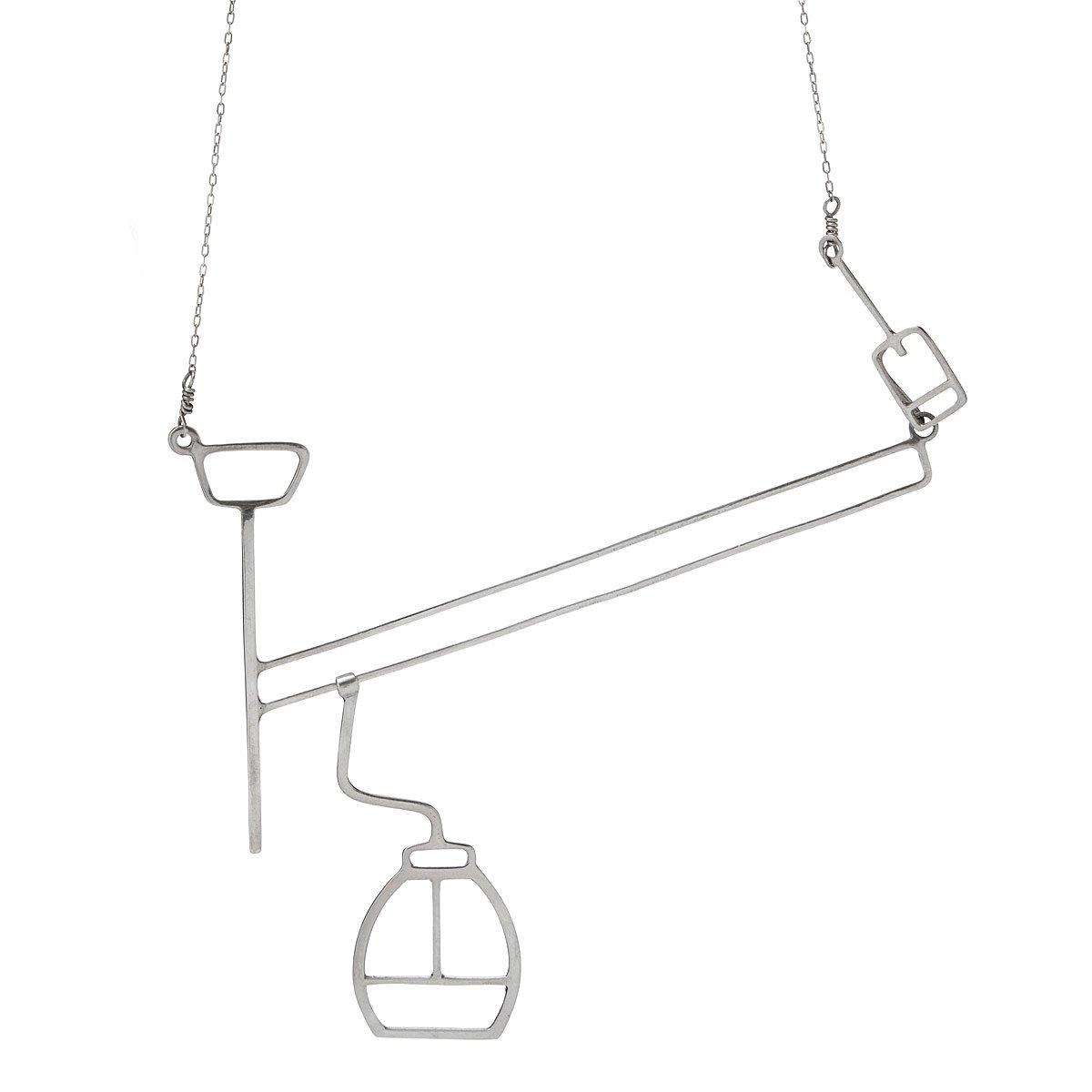 1200x1200 Gliding Gondola Necklace Kinetic Jewelry Uncommongoods