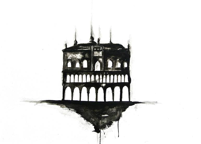 770x552 Palazzo Ducale Drawing