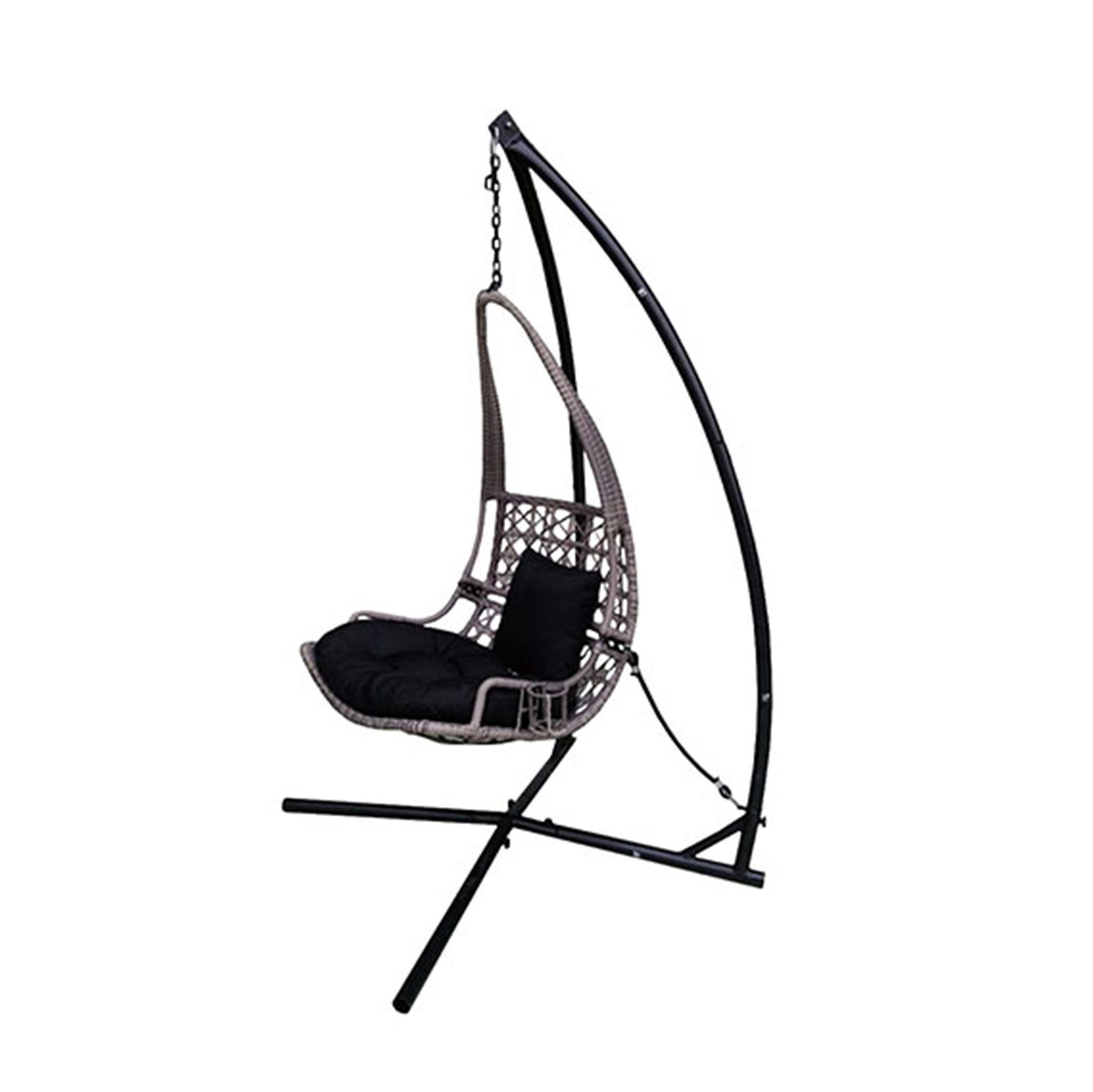 2001x2000 Bloomsbury Market Newlon Wicker Rattan Hanging Swing Chair