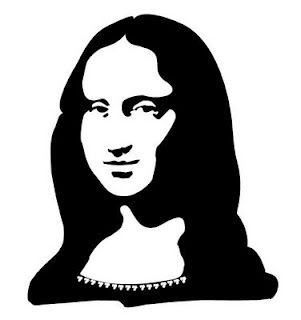 301x320 Supermindy's Artsy Stuff Mona Lisa Gone With The Wind