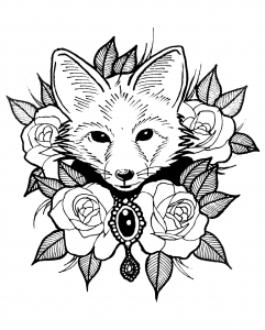 241x300 Cute Coloring Pages For Adults Great Coloring Pages For Teenagers