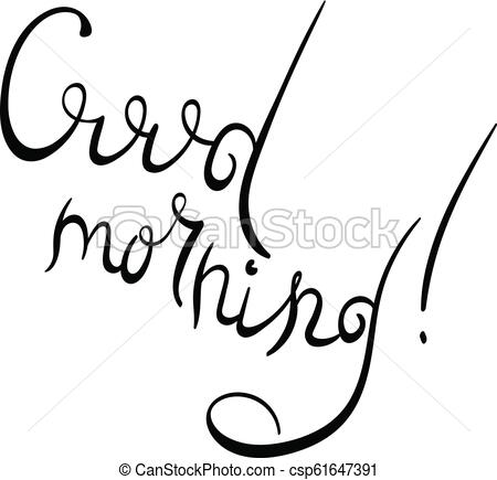 450x435 Good Morning Lettering Text Good Morning Text For Prints
