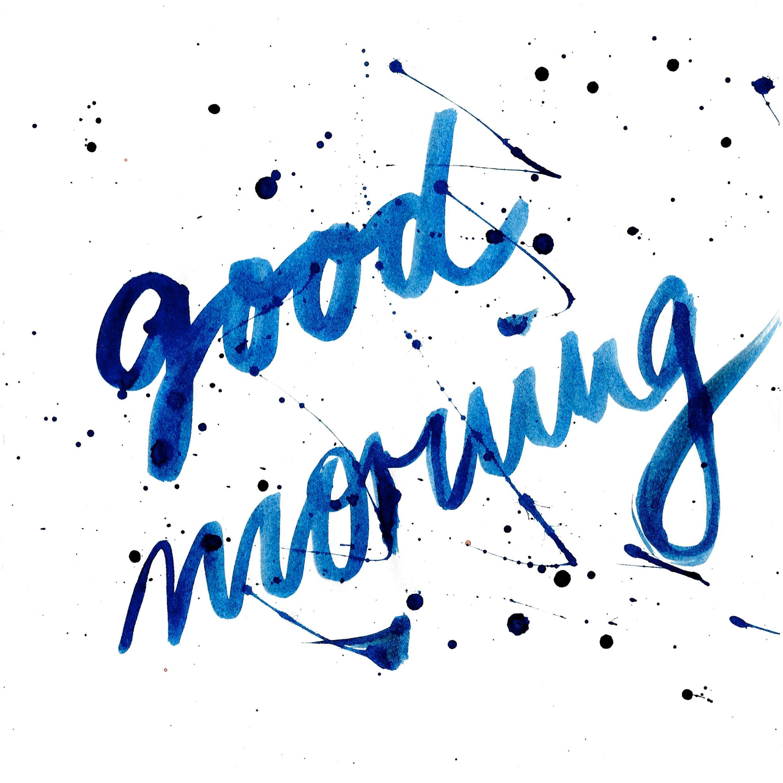 2480x2480 Art Print Good Morning Etsy
