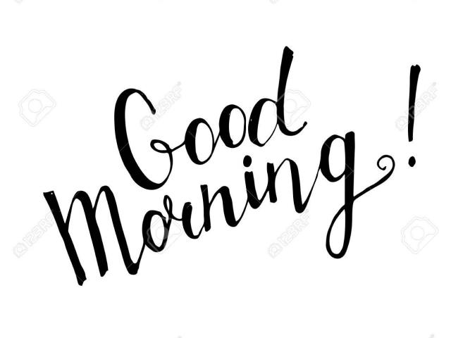 640x480 Free Good Morning Clipart, Download Free Clip Art