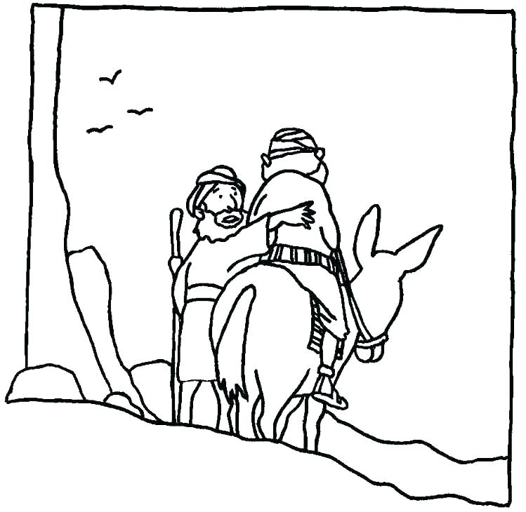 749x730 The Good Samaritan Coloring Pages Good Coloring Pages Good