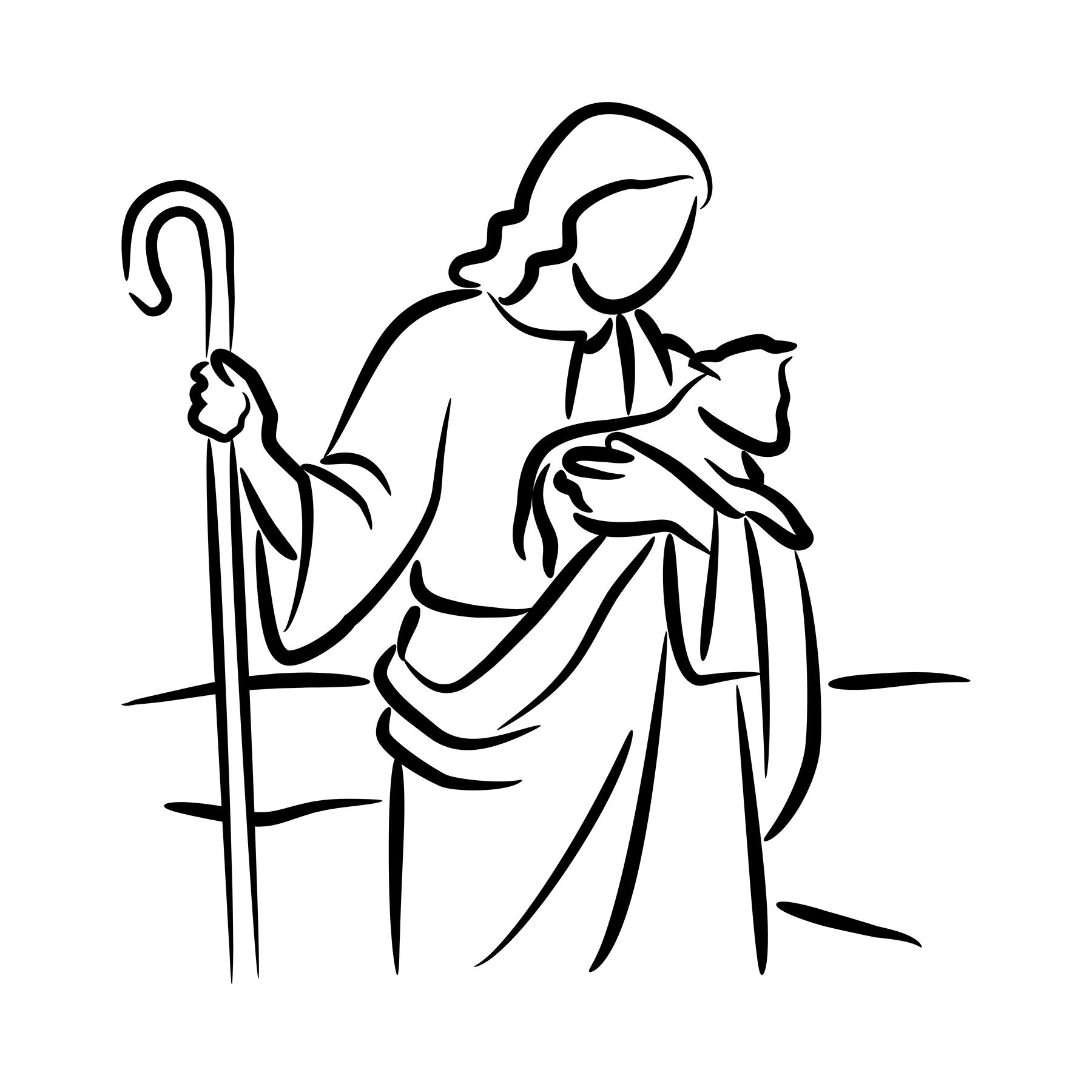 Good Shepherd Drawing