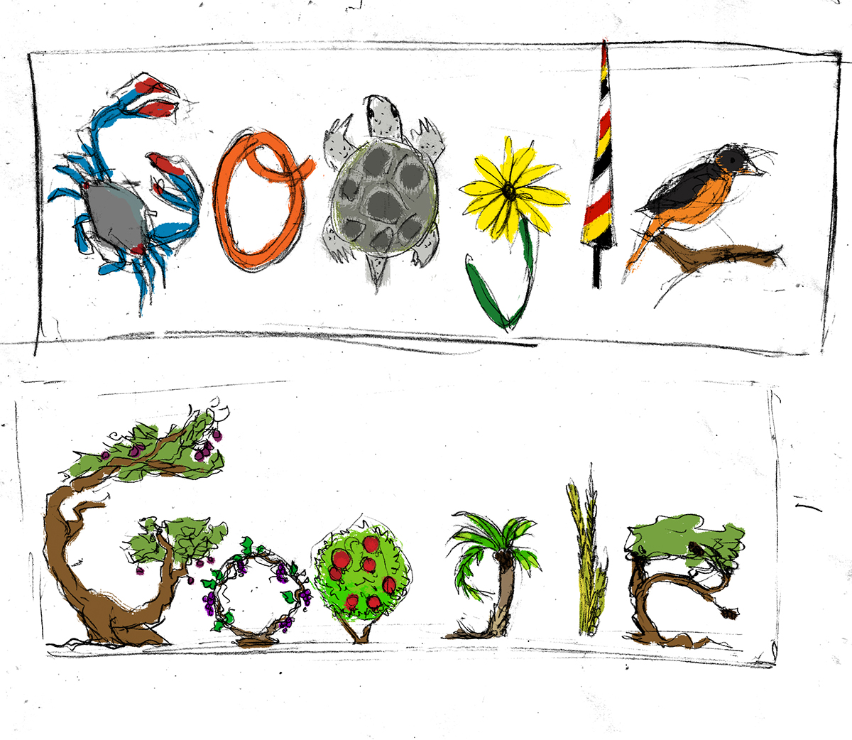 1200x1042 Tu B'shevat Google Doodle On Scad Portfolios