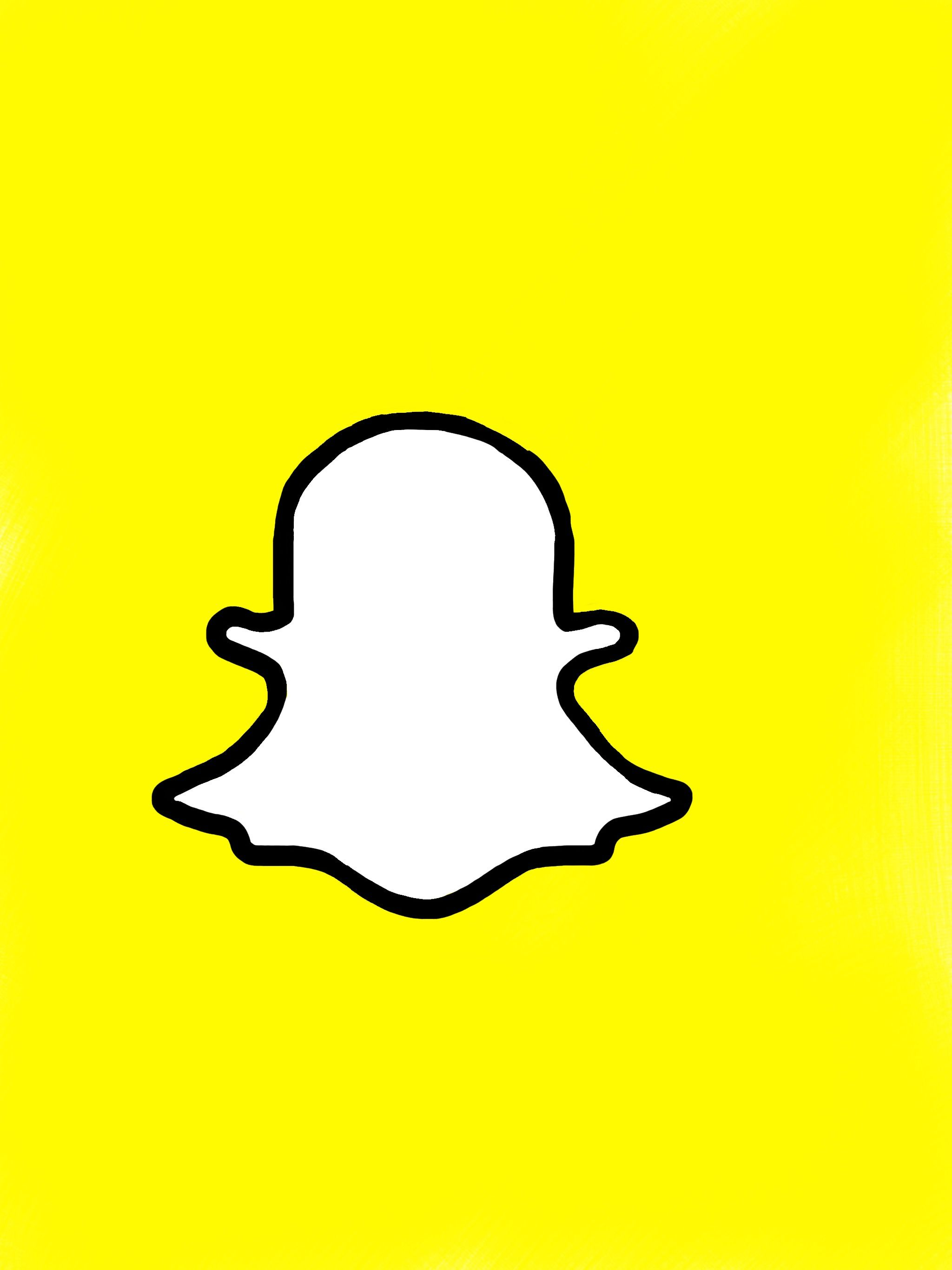 2048x2732 snapchat logo image drawings snapchat logo, logo images