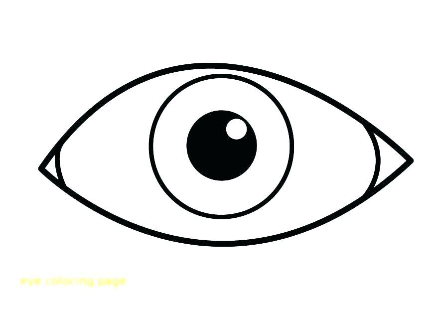 875x620 Eyes Coloring