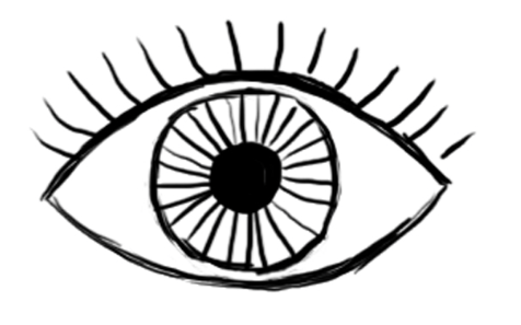 476x297 Huge Collection Of 'eye Simple Drawing' Download More Than