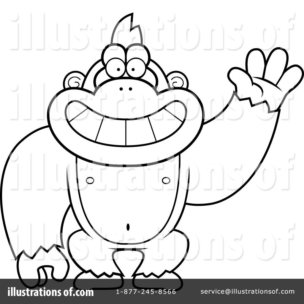 1024x1024 Gorilla Clipart