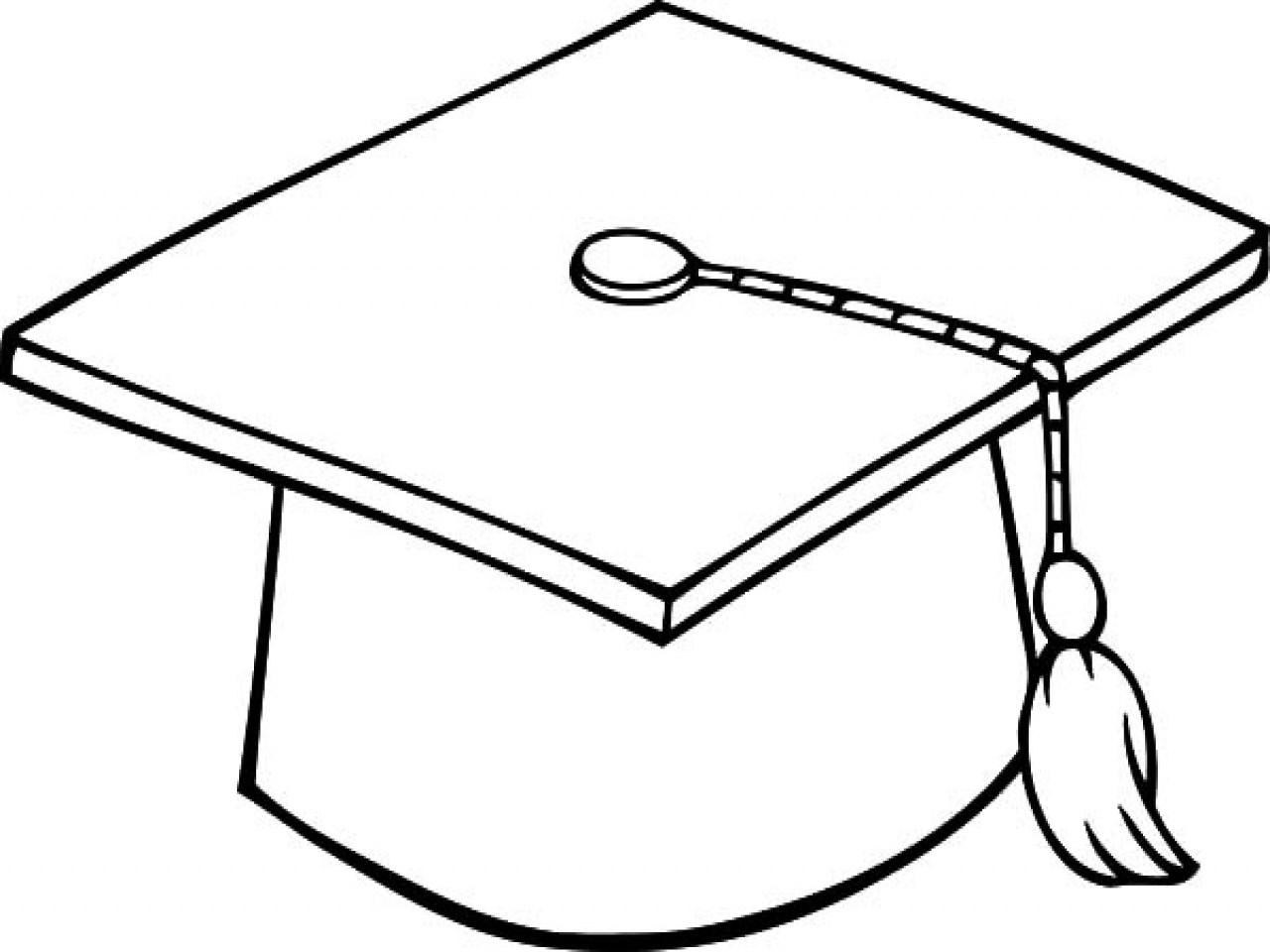 1280x960 Graduation Cap Drawing