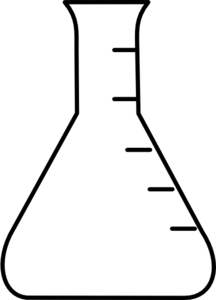 216x300 Collection Of Free Beaker Drawing Graduated Cylinder Download