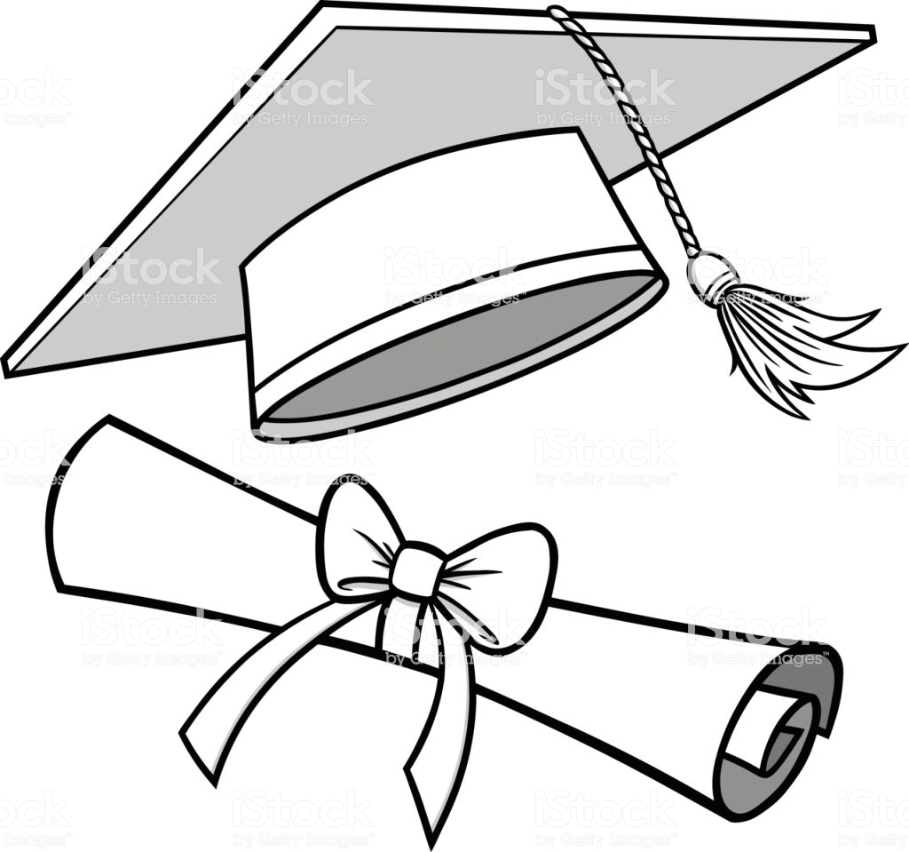 1024x959 Graduation Cap Drawings