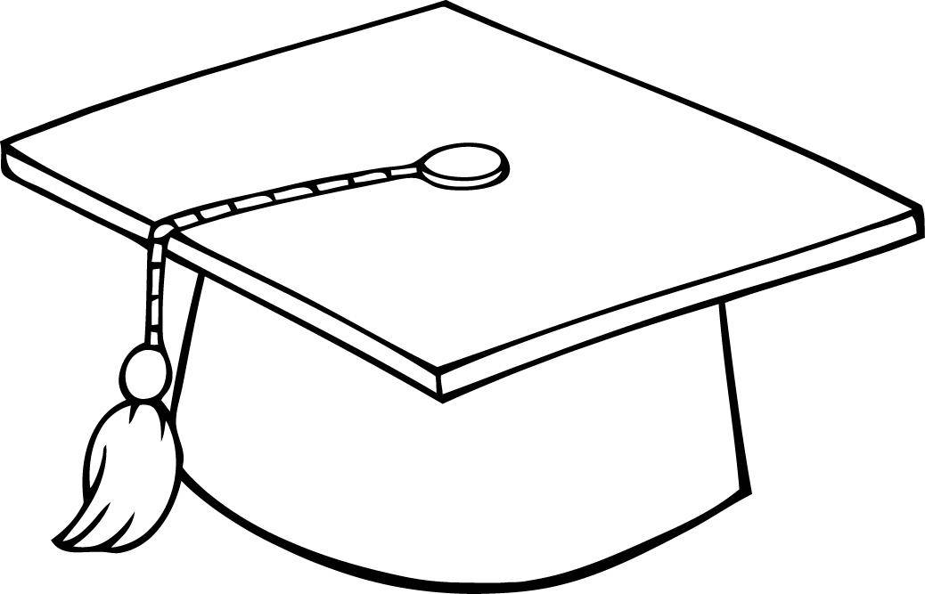1038x667 Graduation Drawings Graduation Cap Drawing Free Download Clip Art