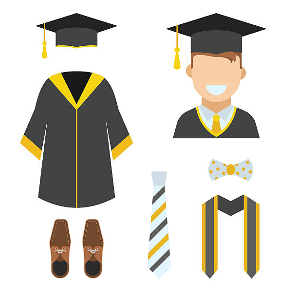 612x612 Collection Of Free Graduating Clipart Gown Download On Ui Ex