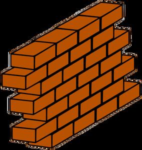Graffiti Brick Wall Drawing