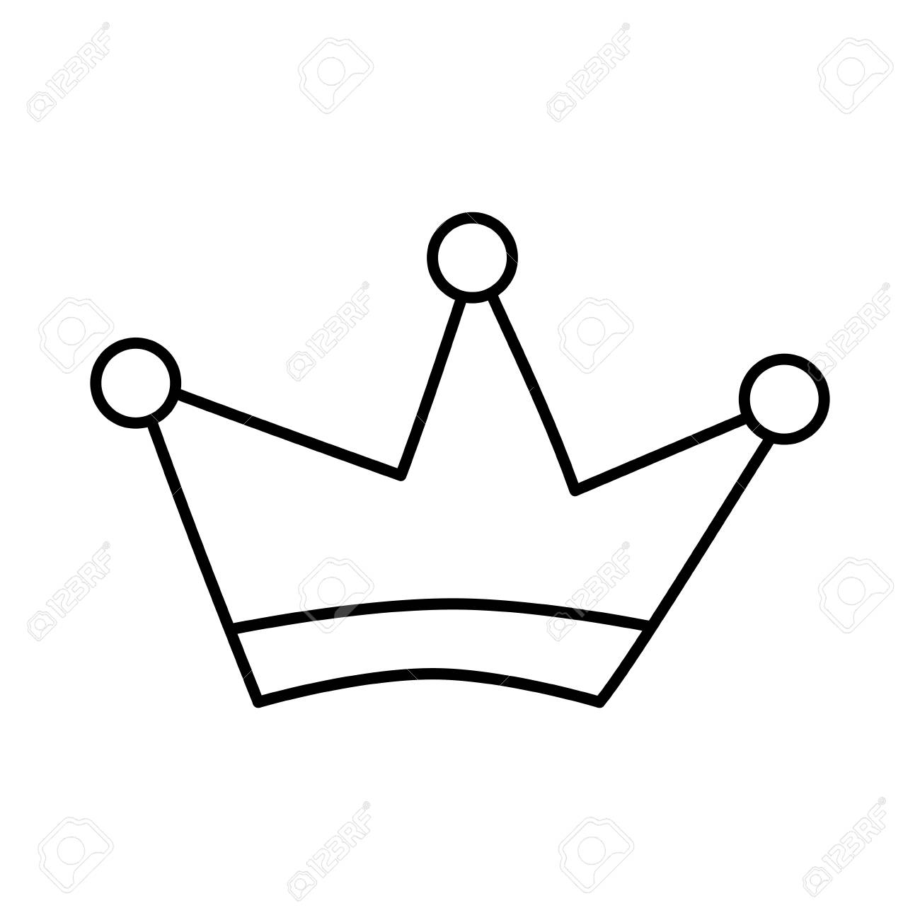 1300x1300 Huge Collection Of 'crown Drawing Vector' Download More Than