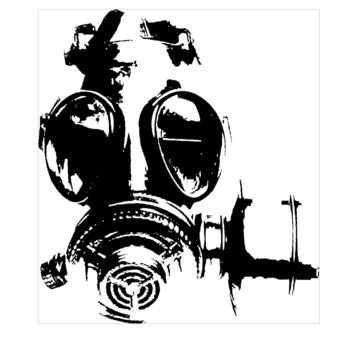 340x340 gas mask stencil ideas gas mask art, gas mask drawing, masks art
