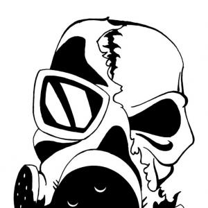 300x300 Graffiti Skull With Gas Mask Drawing All About Gas On Emaze Gas