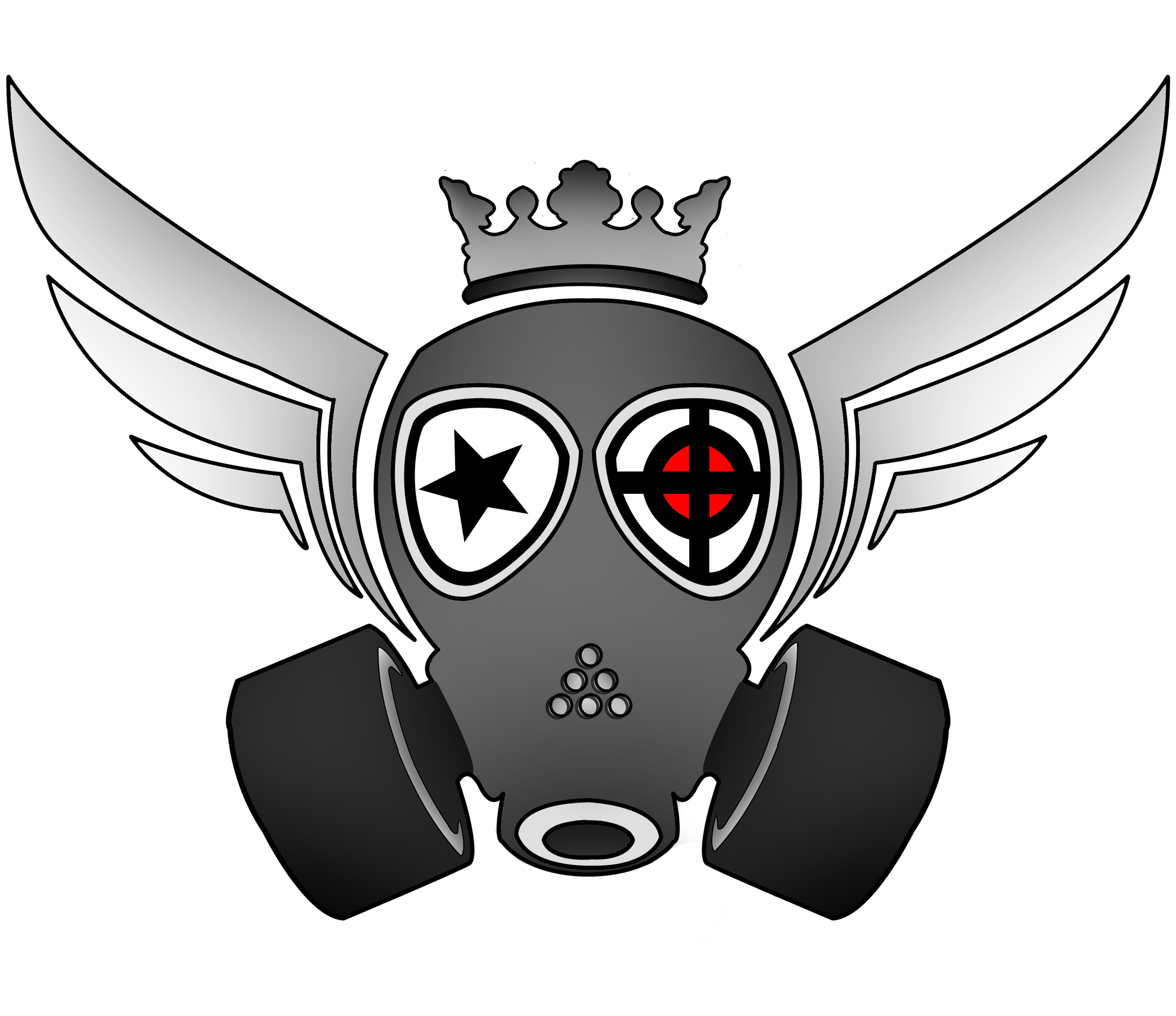 2480x2142 Gasmask Drawing Character Huge Freebie! Download For Powerpoint