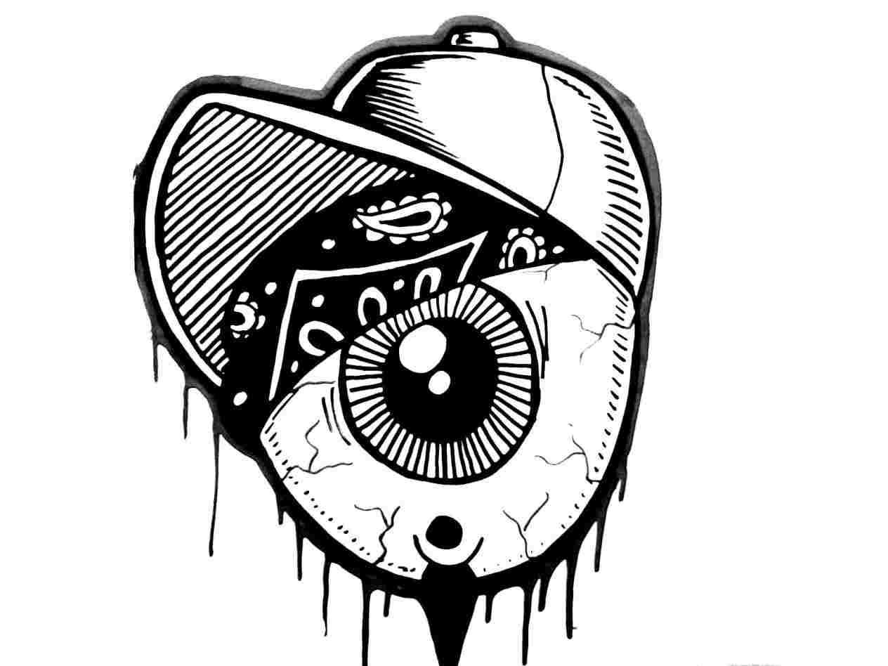 1264x948 Rhpayungteduhonline Cool Graffiti Gangster Gas Mask Cool Drawings