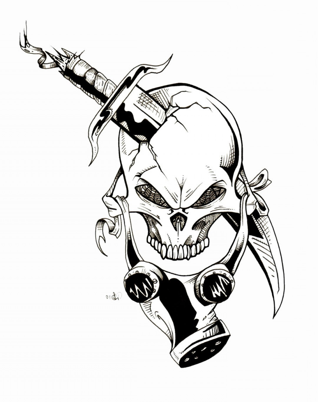 1080x1365 Skull Gas Mask Graffiti Gas Maskdude Lebowski