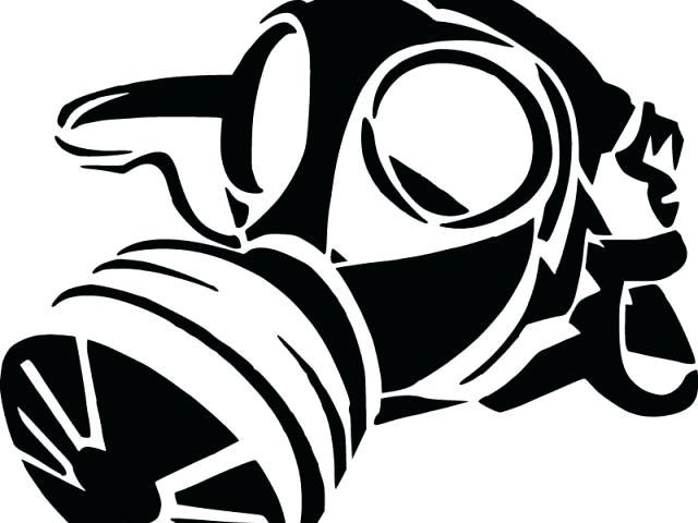 640x480 Gas Mask Graffiti Amyotto