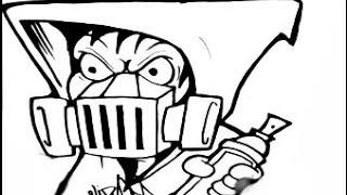 320x180 Gas Masks Drawing