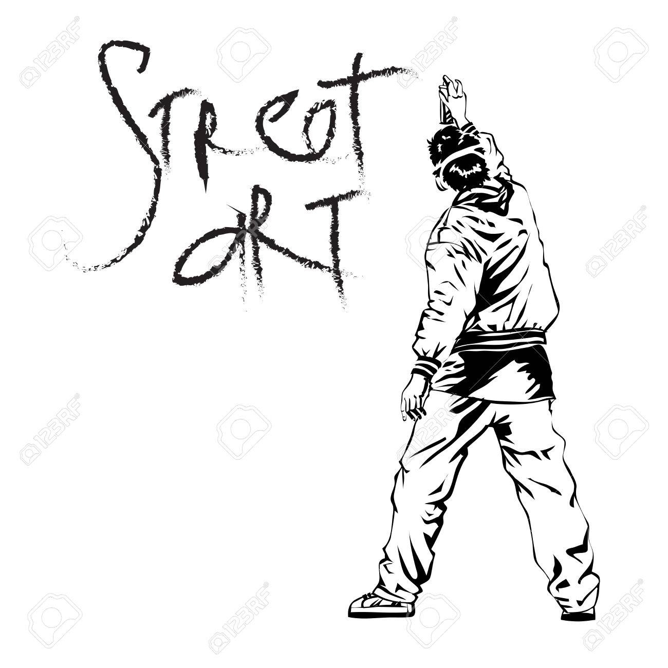 Graffiti Heart Drawings