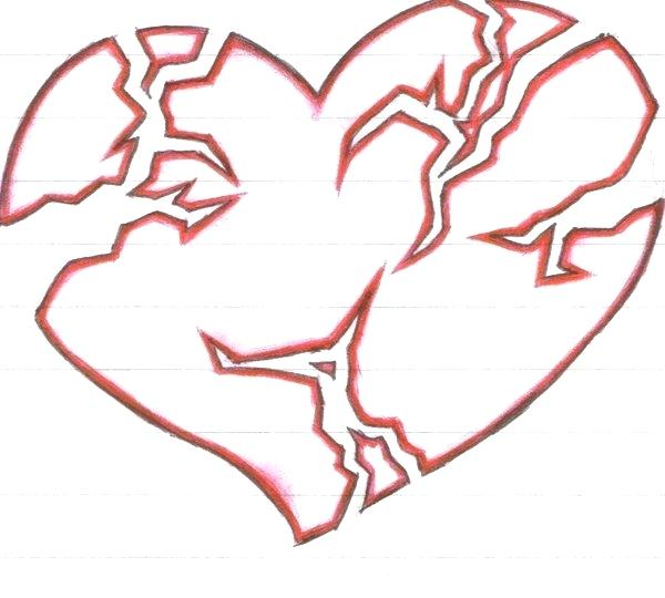 Graffiti Heart Drawings | Free download on ClipArtMag