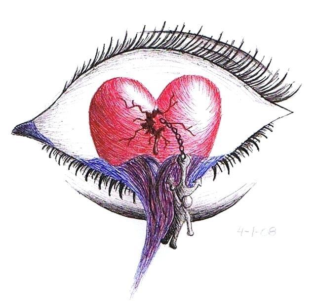 640x608 drawings broken heart uploaded years ago broken heart drawings